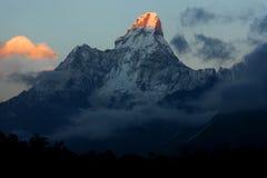 Ama Dablam góra, Nepal Zdjęcia Royalty Free