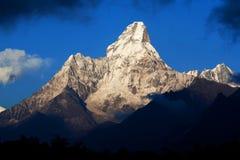 Ama Dablam góra, Nepal Obrazy Stock
