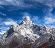 Ama Dablam góra w Nepal himalaje Zdjęcie Stock