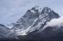 Ama Dablam halny szczyt sławny szczyt w Everest regionie Obraz Stock