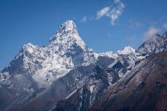 Ama Dablam halny szczyt sławny szczyt w Everest regionie Zdjęcie Royalty Free