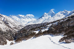 Ama Dablam, Himalaya Royalty Free Stock Photography