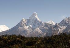 Ama Dablam - il Nepal Fotografie Stock Libere da Diritti