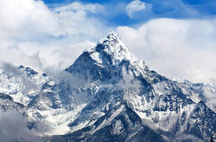 Ama Dablam Mount in the Nepal Himalaya Stock Photography