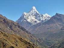 Ama Dablam Mountain. Stock Image