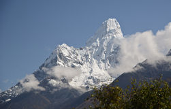 Ama Dablam mountain Royalty Free Stock Photo