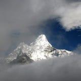 Ama Dablam in Nepal Lizenzfreie Stockbilder