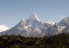 Ama Dablam - Nepal Fotos de Stock Royalty Free