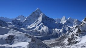 Ama Dablam after new snowfall Royalty Free Stock Photography