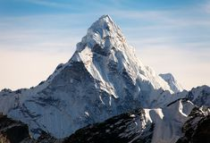Free Ama Dablam On The Way To Everest Base Camp Stock Photo - 53113130