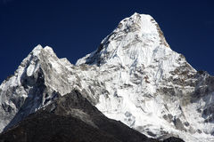 Ama Dablam peak Royalty Free Stock Photos
