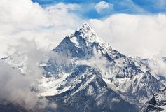 Ama Dablam peak Stock Photography