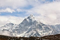 Ama Dablam peak Royalty Free Stock Images