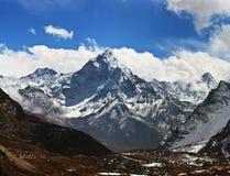 Ama Dablam peak - view from Cho La pass, Sagarmatha National par Stock Image