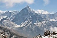 Ama Dablam szczyt Fotografia Royalty Free