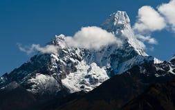Ama Dablam szczyt w himalajach Obraz Royalty Free