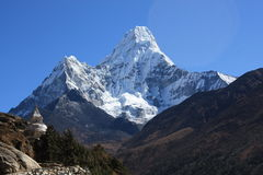 Ama Dablam View Royalty Free Stock Images