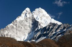 Ama Dablam - way to Everest base camp Royalty Free Stock Photos