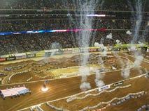 AMA Supercross à Atlanta, la Géorgie Photo libre de droits