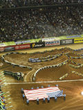 AMA Supercross in Atlanta, Georgië stock fotografie