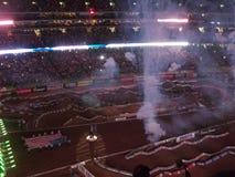 AMA Supercross in Atlanta, Georgië Royalty-vrije Stock Afbeelding