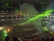 AMA Supercross in Atlanta, Georgië Royalty-vrije Stock Fotografie