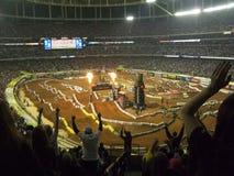 AMA Supercross in Atlanta, Georgië Stock Foto