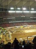 AMA Supercross em Atlanta, Geórgia Fotografia de Stock