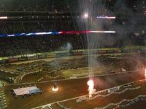 AMA Supercross em Atlanta, Geórgia Foto de Stock Royalty Free