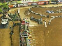AMA Supercross em Atlanta, Geórgia Imagens de Stock