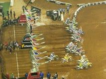 AMA Supercross em Atlanta, Geórgia Imagem de Stock Royalty Free