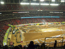 Free AMA Supercross In Atlanta, Georgia Royalty Free Stock Photography - 23983157
