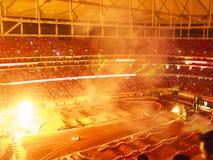 Free AMA Supercross In Atlanta, Georgia Royalty Free Stock Photos - 23983278