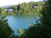 Amabilidad de la orilla del lago Foto de archivo libre de regalías