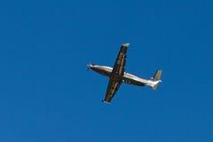 AMAC αεροδιαστημικό Pilatus PC-12/47E Στοκ φωτογραφίες με δικαίωμα ελεύθερης χρήσης