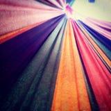 Amaca dell'arcobaleno Fotografia Stock