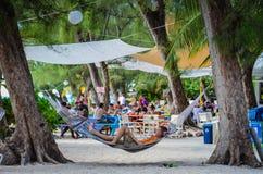 Amache del punto del rum - Grand Cayman Immagini Stock