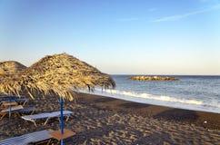 Amache sulla spiaggia Fotografia Stock Libera da Diritti