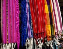 Amache tessute mano dall'Ecuador Fotografia Stock