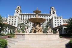 Łamaczy palm beach historyczny hotel Obraz Royalty Free