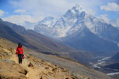 Amadablam, Himalayans Stock Images