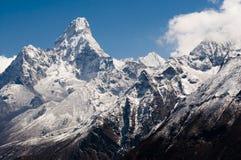 amadablam nepal Royaltyfri Foto