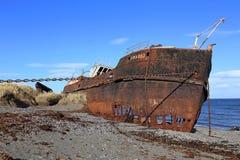 Amadeo Shipwreck in Chili stock fotografie