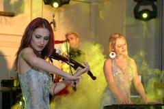 Amadeus band. Amadeus is a romanian clasic music quartet Royalty Free Stock Images