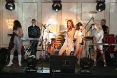 Amadeus band. Amadeus is a romanian clasic music quartet Royalty Free Stock Photography