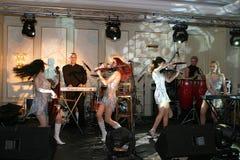 Amadeus band. Amadeus is a romanian clasic music quartet Royalty Free Stock Photo