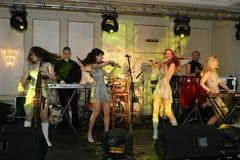 Amadeus band. Amadeus is a romanian clasic music quartet Stock Image
