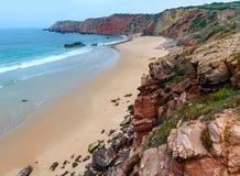 Amado Beach, Algarve, Portugal. Stock Image