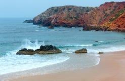 Amado Beach, Algarve, Portugal. Stock Images