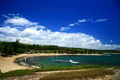 Amador Beach. Scenic view from Amador Beach Royalty Free Stock Photography